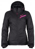 Kilpi Kanpu-W, womens short ski jacket, black
