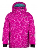 Kilpi Niesko JG, junior ski jacket for girls, pink