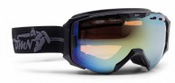 Demon Absolute ski goggle, mat black