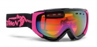 Demon Matrix ski goggle, black/fuscia