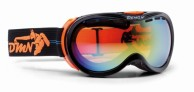 Demon Bubble OTG ski goggle, Black/Orange