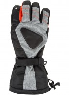 4F/Outhorn Hydropile mens ski gloves, black/grey