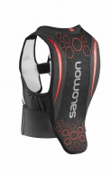 Salomon Flexcell JR ski back protector, Black/Red