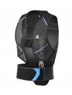 Salomon Flexcell Men ski back protector, Black/Blue