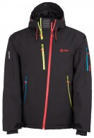 Kilpi Asimetrix-M, mens snowboard jacket, black