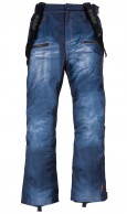 Kilpi Jeanster-M, Mens Ski pants, jeans look, blue