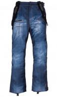 Kilpi Jeanster-M, Mens Ski pants, jeans look, blue