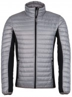 Kilpi Isaiah-M mens down jacket, light grey