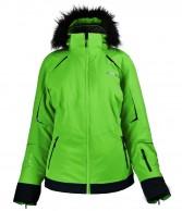 DIEL Celine ski jacket, women, green