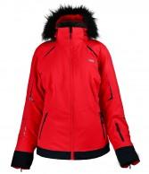 DIEL Celine ski jacket, women, red