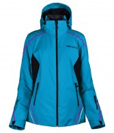 DIEL Daria , womens ski jacket, blue