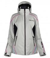 DIEL Daria , womens ski jacket, grey