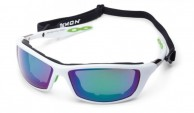 Demon Aspen Outdoor sunglasses, white/lime