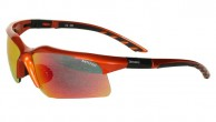 Demon Evolution sunglasses, w. extra lenses, orange