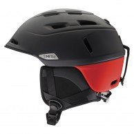 Smith Camber ski helmet, Black/Red