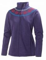 Helly Hansen W Grapich fleece jacket, women midlayer, Nordic Purple