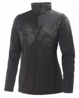 Helly Hansen W Grapich fleece jacket, women midlayer, Black