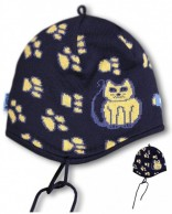 Kama Kids hat, cotton/polyacryl, Blue