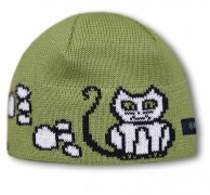 Kama Kids beanie, cotton/polyacryl, Green