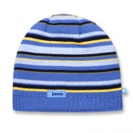 Kama Street beanie, striped, Blue