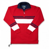 Kama knitted sweater with Gore Windstopper, Red