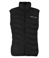 DIEL womens down vest, black