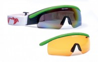 Demon Nordic ski goggle, for cross country skiing,green