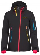 Kilpi Asimetrix-W womens ski jacket, black