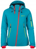 Kilpi Asimetrix-W womens ski jacket, blue