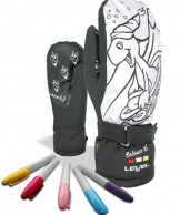 Level Pop-Art JR Mitt, black