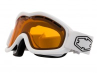 Out Of Mind ski goggle, White/Persimmon
