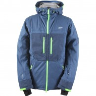2117 of Sweden Huså, ski jacket, men, blue
