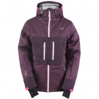 2117 of Sweden Huså, ski jacket, women, plum