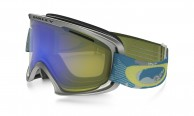 Oakley O2 XM, Gi Camo Aurora Blue, Hi Yellow Iridium