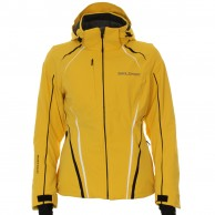 DIEL Betsy ski jacket, women, yellow