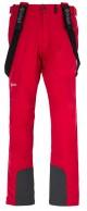 Kilpi Rhea-M mens soft shell ski pant, red