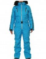 DIEL Ski Spirit womens ski overall, blue