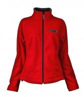 DIEL Micro fleece jacket, women, red