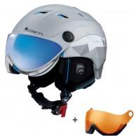 Cairn Spectral Visor Magnet Ium, ski helmet with Visor, camouflage