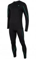 4F Cooldry ski underwear for men, set, black