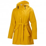 Helly Hansen W Kirkwall Womens Rain Jacket, yellow