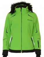 DIEL Celine ski jacket, women, green