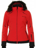 DIEL Celine ski jacket, women, red