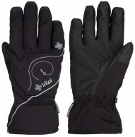 Kilpi Bernina womens ski gloves, black