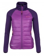 Kilpi Baffin W womens down jacket, violet