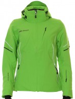 DIEL Celia, womens ski jacket, green