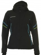 DIEL Celia, womens ski jacket, black