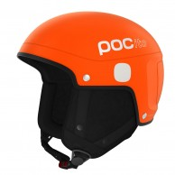 POCito Skull light, kids ski helmet, orange
