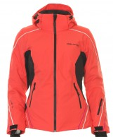 DIEL Daria , womens ski jacket, red
