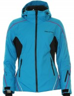 DIEL Daria , womens ski jacket, blue